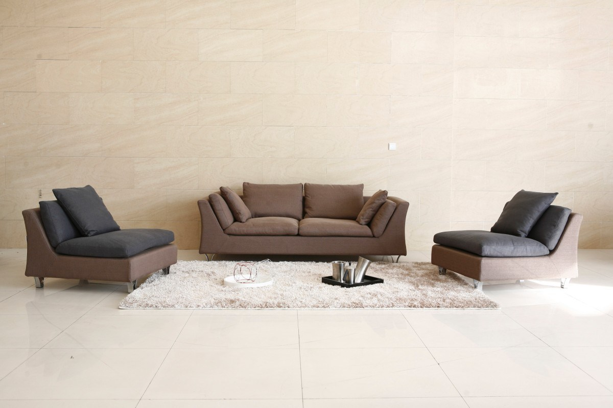 Modern Leather Sofa - Contemporary Couches