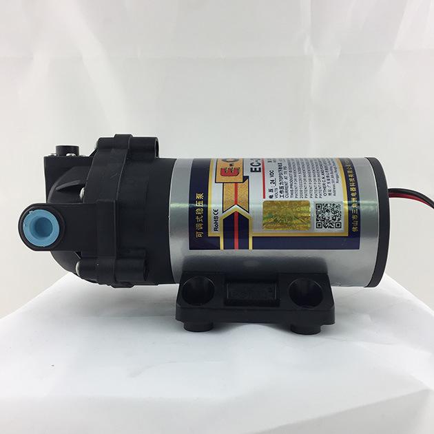 E-Chen 203 Series 75gpd Diaphragm RO Booster Pump - Self Priming Self Pressure Regulating Water Pump