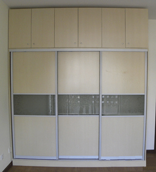 Bedroom Closets / Wardrobes - China Sliding Door,Wardro