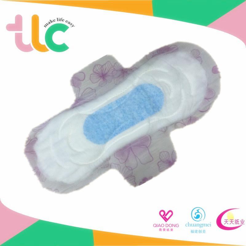 Hot Air Through Topsheet Sanitary Napkin