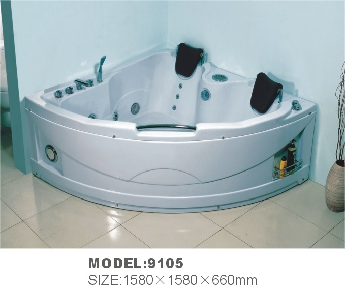 Two person indoor luxurious massage bathtub for america market north 9105 two person indoor - Baignoire deux personnes ...
