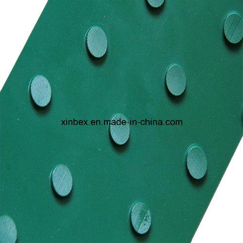 PVC Big DOT Green Conveyor Belt