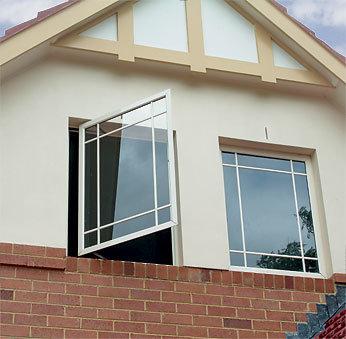 Aluminium Side Hung/Casement Window with Powder Coating/Anodizing Aluminum Frame