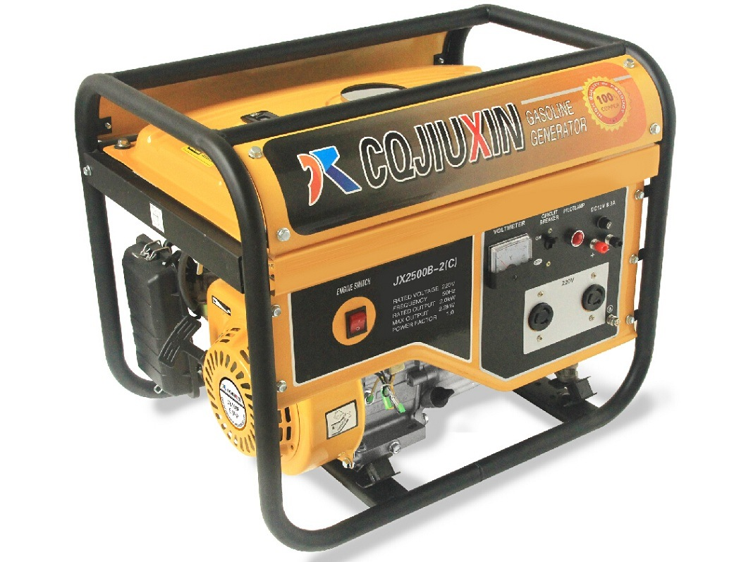 2.5kw High Quality Gasoline Generator with a. C Single Phase and Cover
