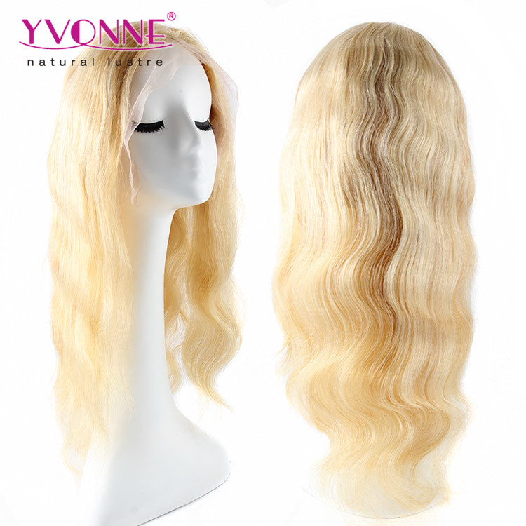 100% Body Wave Brazilian Virgin Hair Full Lace Wig