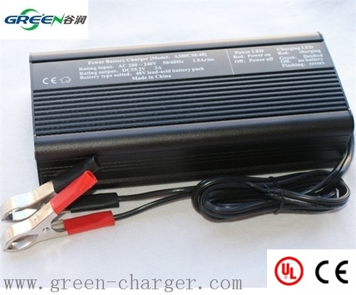 13.8V 12A Smart Car Lead-Acid Battery Charger
