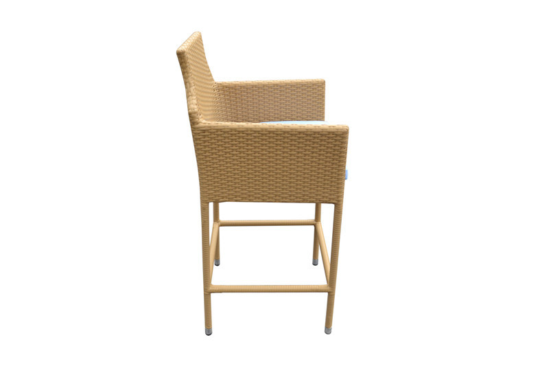 Used Home Wicker Resin Outdoor Furniture Bar Table and Chairs