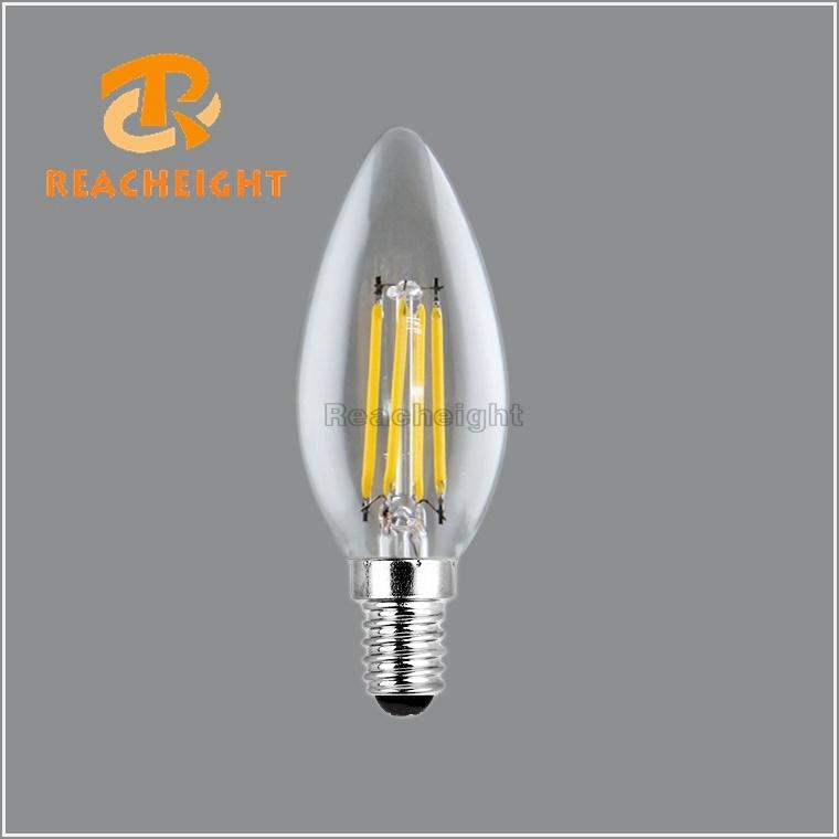 2W 4W C35 E14 LED Filament Candle Bulbs