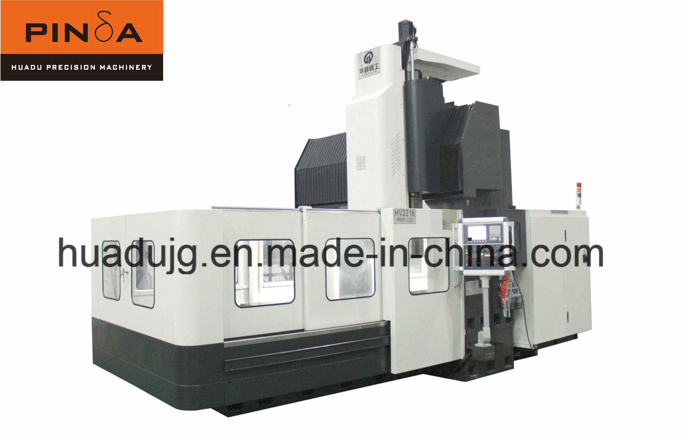 Integral Gantry Vertical CNC Machine for Metal Machining (HV1813)