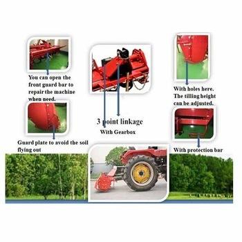 Farm Tractor Cultivator Blade Pto Mini Rotary Tiller (RT135)