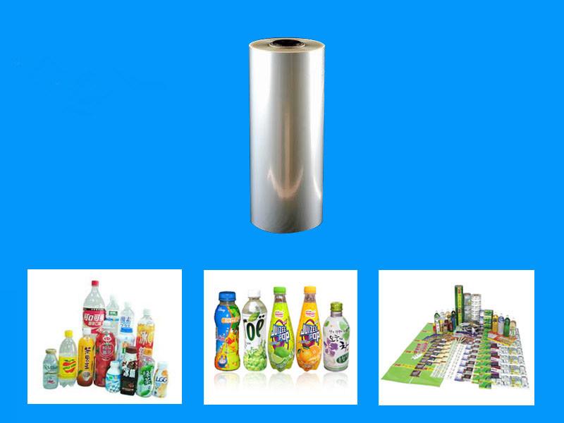 PVC Shrink Film for Water Bottle Label