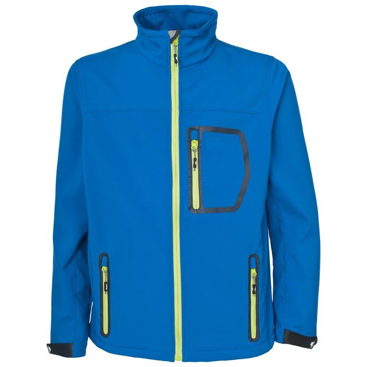 Men Stand Collar Windproof Lightweight Softshell Jacket