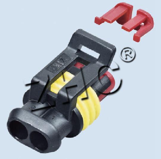 2 Pin Auto/Car Parts-Plastic Connectors (00126)