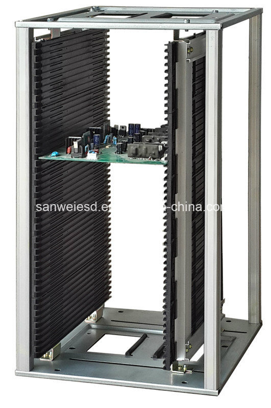 3W-9805301b1h High Temp ESD Antistatic PCB SMT Magazine Rack 200degree. C