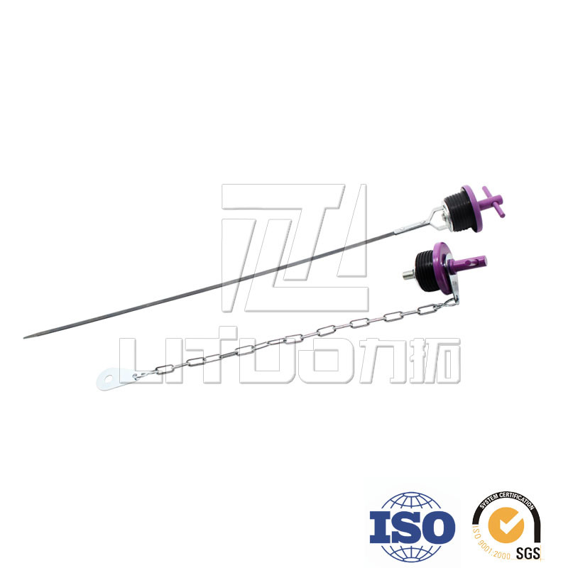 Auto Parts Oil Dipstick Metal Parts Stamping Parts