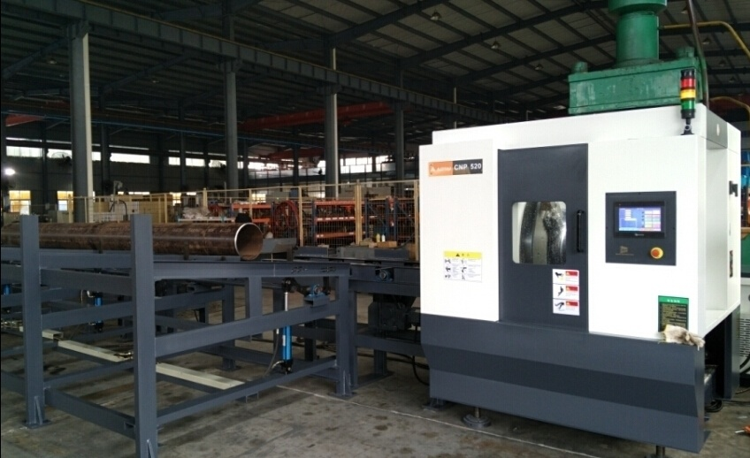Nc High Speed Pipe Cutting and Beveling Machine (CNP-610)