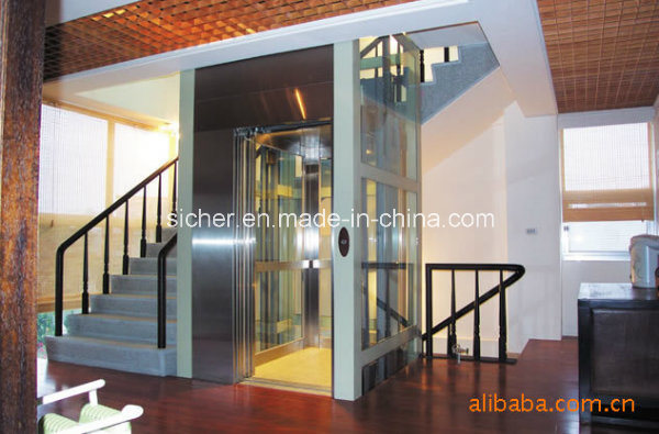 Indoor Villa Elevator Without Machine Room