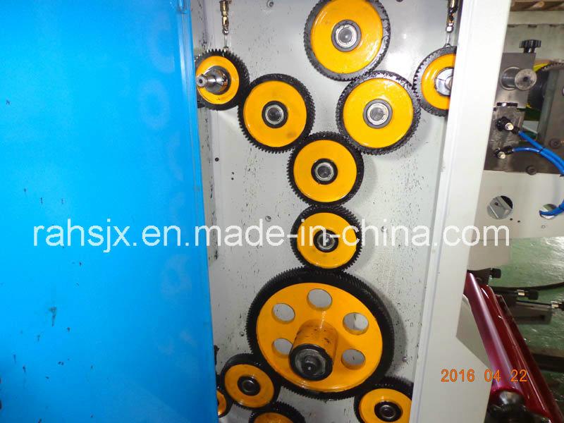 Plastic Film 4 Colors Flexographic Printing Machine