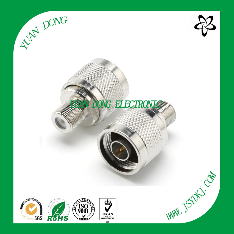 N Male to F Female Connector CATV Coaxial Connector