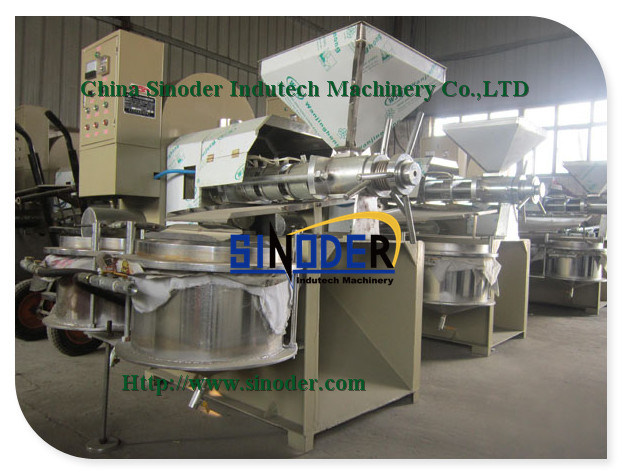 Screw Oil Press, Oil Extraction, Oil Making Machine to Get High Pure Oil