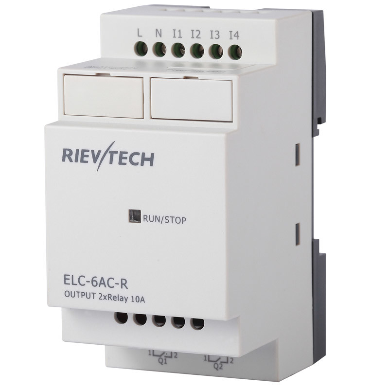 Programmable Logic Controller for Automation Control (ELC-6AC-R)