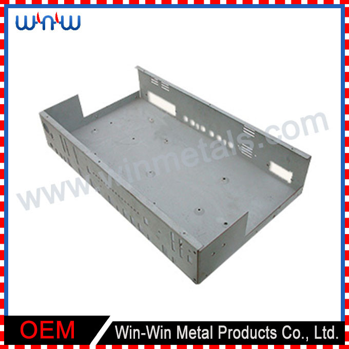 Perforated Electric Control Laser Cut Stamping Sheet Metal Panel