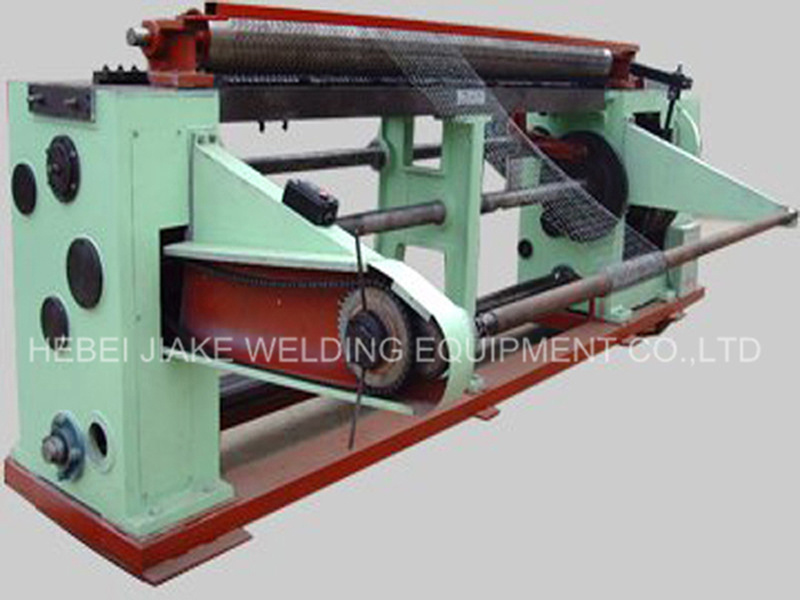 Factory Price Straight Reverse Hexagonal Wire Netting Mesh Machine