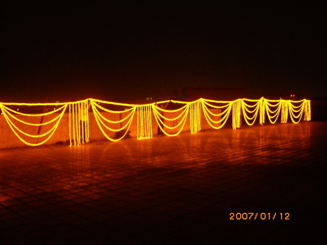 LED Curtain Light for Window Decoration From Factory