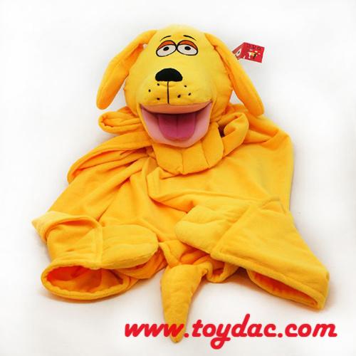 Plush Animal Baby Blanket
