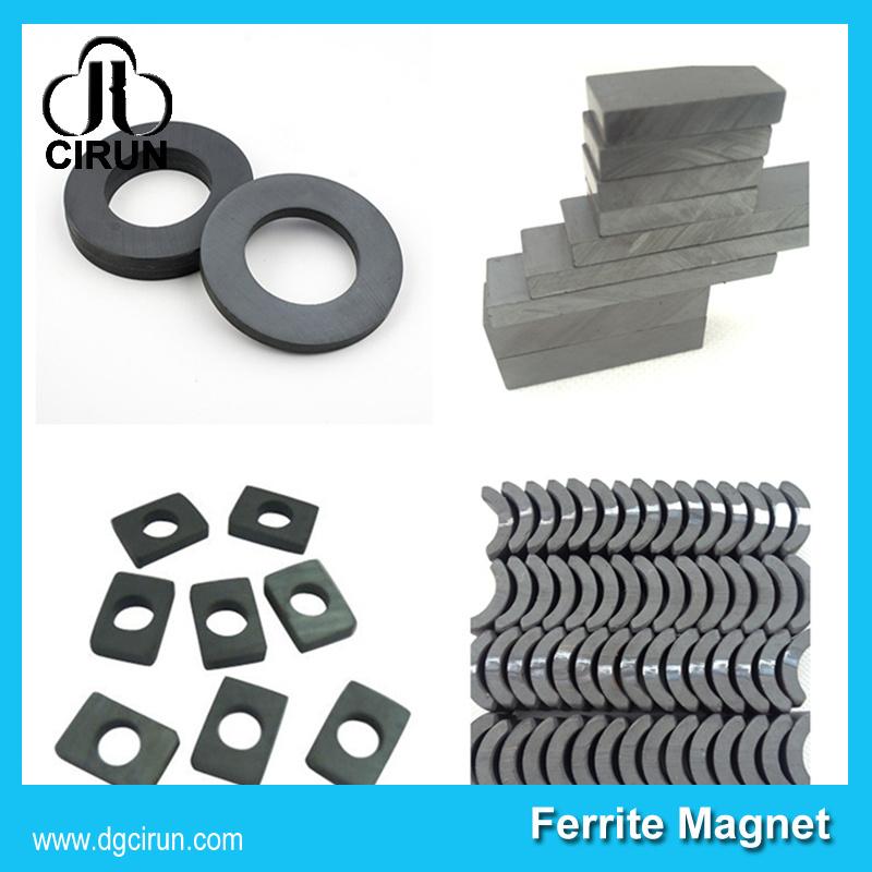 Widely Use C5 C8 C10 Y30 Y30bh Y35 Y40 Industrial Ceramic Ferrite Magnet