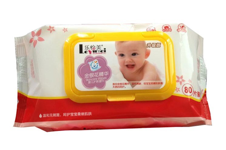 OEM Welcome Baby Wet Wipes with Good Quality, Tissue Made in China