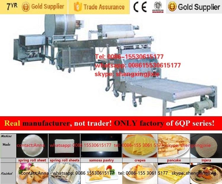 Manufacturer of Auto Injera Machine/ Injera Making Machine/Injera Machine/Crepe Machinery/Ethiopia Injera Production Line (high capacity)