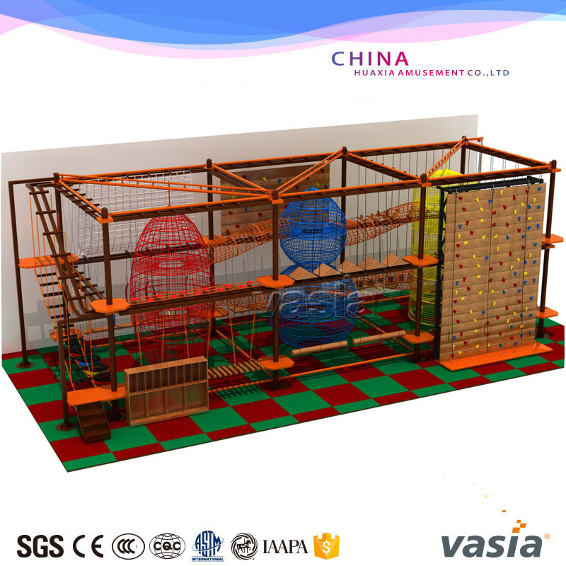 2016 New Design Kids Rope Course Climbing Playground