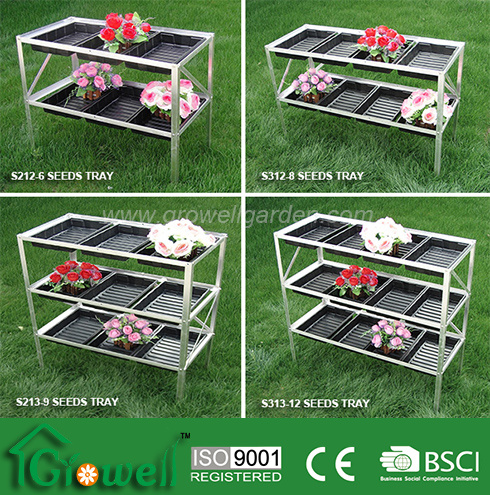 Aluminium Seed Trays Shelving for Greenhouse