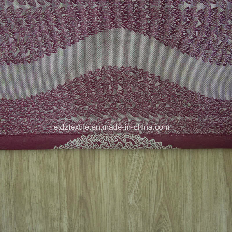 U. S. Popular Embroidery Like Window Fabric Curtain