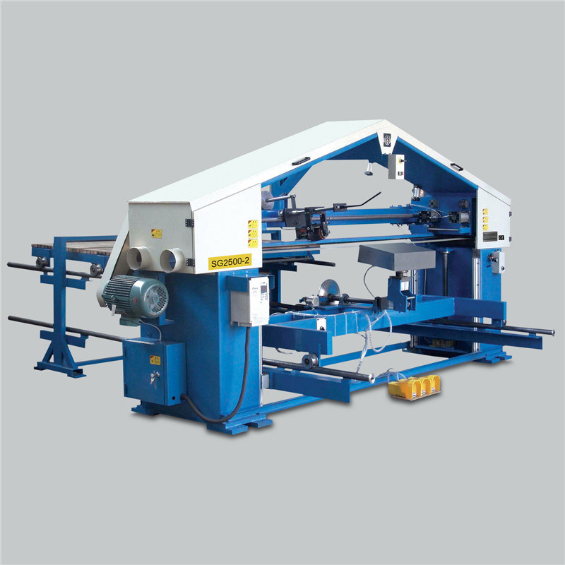 Stroke Sander Twin Belt Grinding Finishing Machine