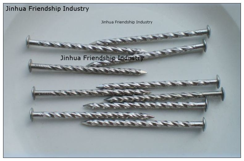 Galvanized Oval Head Nail in High Quality