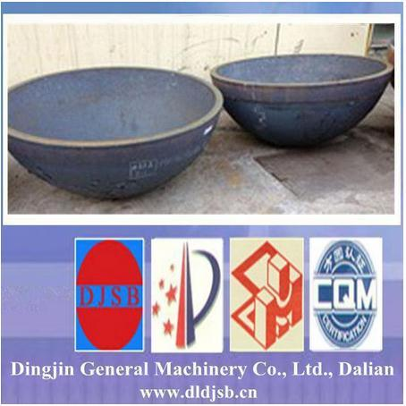 Hemispherical Head for Pressure Vessel Made by Dingjin