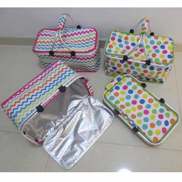 Folding Camping Basket with Cooler Bag (SP-301)