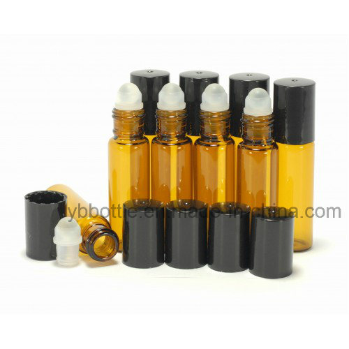 Green Roll on Containers/Bottles W/ Ball and Caps
