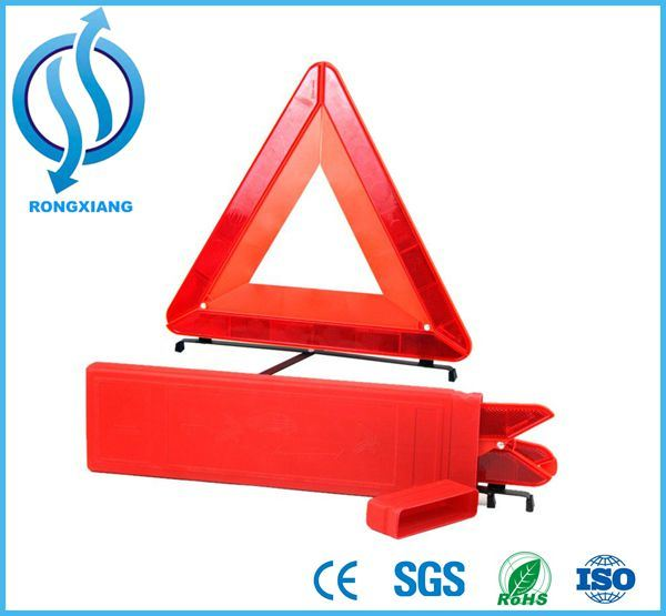 LED Warning Triangle, Reflective Safety LED Triangle, Flashing Light Warning Triangle