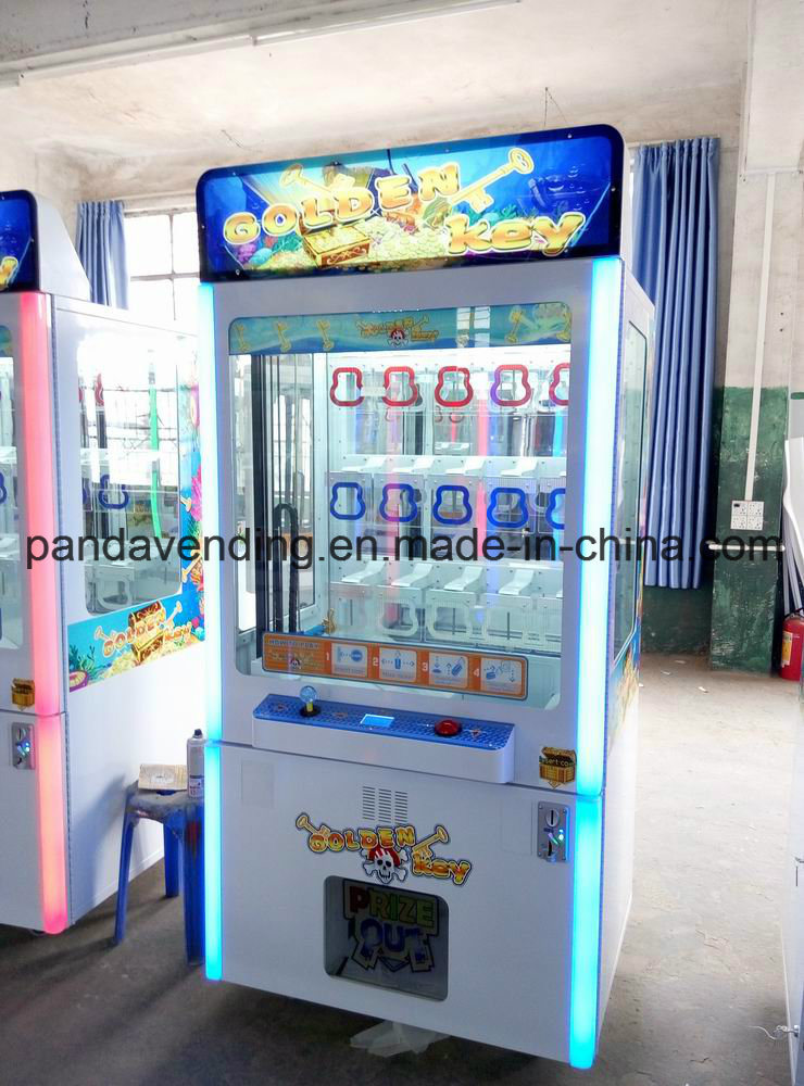 Key Master (Gold Key) Prize Redemption Game Machine (TR1105)