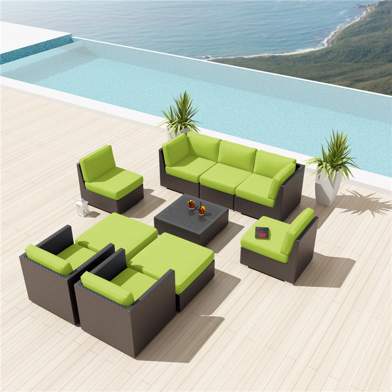 High Quality Wicker Rattan Modern Hotel Pool Furniture