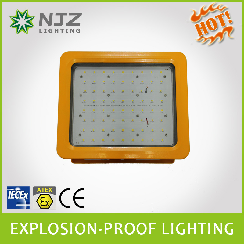LED Floodlight for Zone1, 2 Zone 21, 22 Atex + Iecex Standard Used in Explosive Atmospheres Gas Station, Chemical Plant.