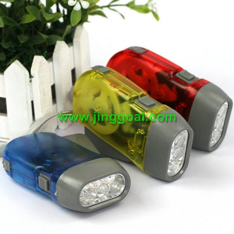 LED Dynamo Flashlight