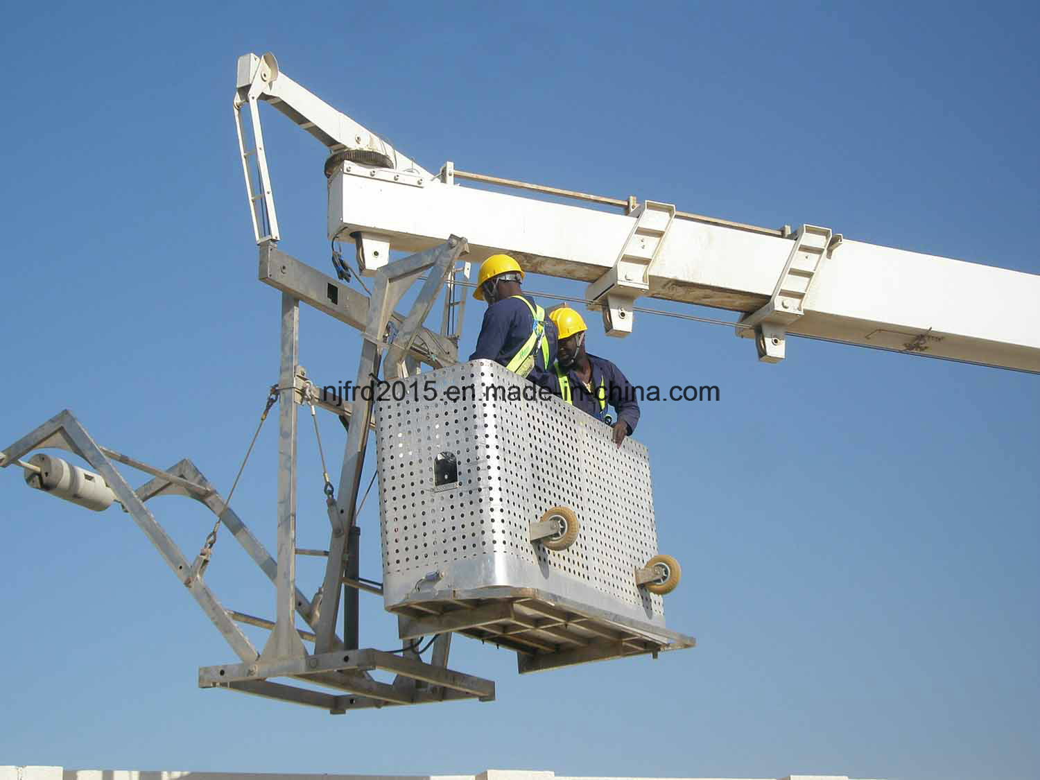 Nfsa Models Telescopic Jib Building Maintenance Units Bmu