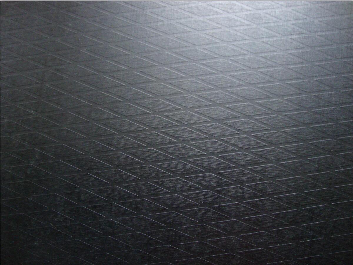 Diamond Anti-Slip Poplar-Birch Combi Plywood for Decoration