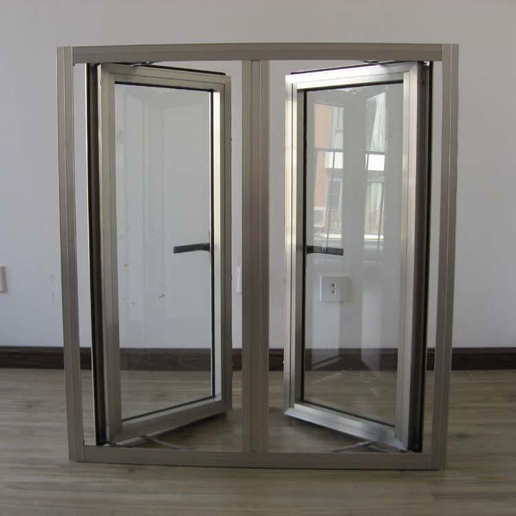 Electrophoresis Surface Treatment Aluminium Profile Casement Window K03011