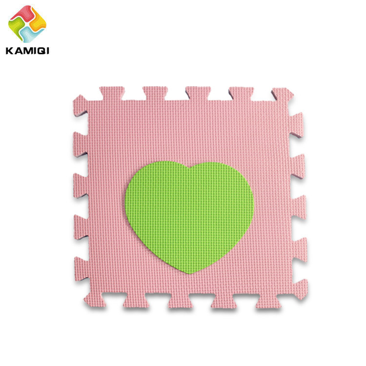 The Heart Large EVA Foam Play Mats for Babies