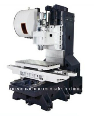 High Efficiency CNC Metal Processing Machine with Rotary Axis (RTM800 SHMC)